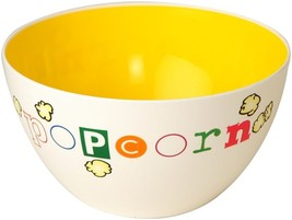 Wabash Valley Farms Yellow Fun Time Popcorn Bowl - Perfect For Family Night - €10,69 EUR