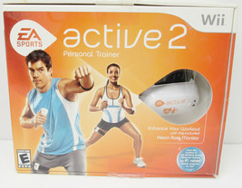 Wii EA SPORTS ACTIVE  2 PERSONAL TRAINER  W/ ACCESSORIES  & USB -G7 - $19.99