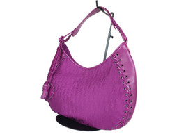 Auth Christian Dior Troter Pattern Nylon Canvas Leather Shoulder Bag DS0067 - $298.00