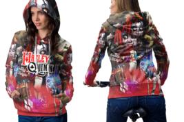 Harley Quinn Suicide Squad Women's Hoodie Zipper - $52.99