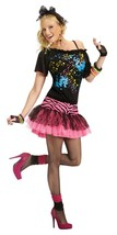 Fun World 80s Pop Party Cyndi Lauper Retro Adult Womens Halloween Costum... - $25.99