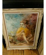 """Helen Talvacchio Painting """"They are Earths Purest Children Young and Fair"""" - $297.00"""