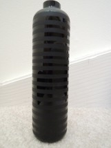 Hand Blown Glass Vase by Two's Company - Matte + Glossy Black Striped Bu... - €8,84 EUR