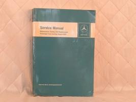 Mercedes Benz Service Manual 1959-1969 Maintenance Tuning Passenger Cars - $94.81