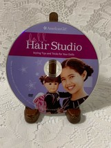 American Girl Hair Studio Styling Tips and Tricks for Your Dolls DVD - $1.81