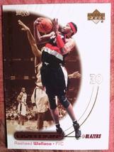 BASKETBALL 2000-01 UPPER DECK OVATION #43  RASHHEED  WALLACE    BLAZERS - $0.99