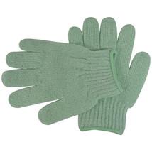 Acqua Sapone Exfoliating Body Massage Gloves - Green 1 pair - $8.25