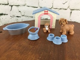 Fisher Price Loving Family Dollhouse Puppy Playtime Set Incomplete  - $19.79