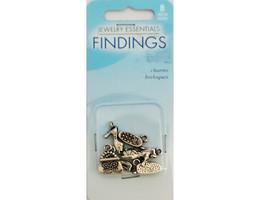 Horizon Jewelry Essentials Findings Feminine Charms, Set of 8