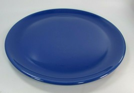 Vintage METLOX Poppy Trail 14 Inch Cobalt Blue CHOP PLATE Platter 31167 - $59.39