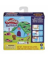 Play-Doh Builder Doghouse Mini Animal Building Kit for Kids 5 Years and ... - $11.75