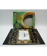 Lord Of The Rings Fellowship Of The Ring Chess Set LOTR 32 Sculpted Piec... - $39.99