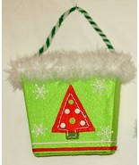 OFF-SEASON SALE - Holiday basket for cards, candy canes & more - $3.95