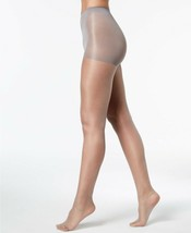 Calvin Klein Shimmer Sheer Control Top Sheers Pearl Grey Size B Tights $... - $9.49