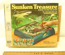 Vintage Sunken Treasure 1976 Milton Bradley MB Battery Powered Skill Gam... - $23.36