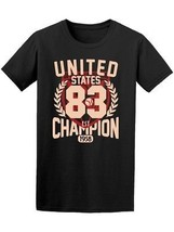 United States Champion League Men's Tee -Image by Shutterstock - $14.84+