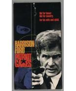 Patriot Games - Harrison Ford - VHS 32530 - R - 1992 - 0-9736-32530-3. - $0.97