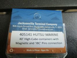 Jacksonville Terminal Company # 405141 HUTSU MARINE 40' High-Cube Container (N) image 4