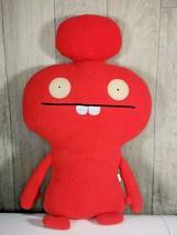 "UGLYDOLL 16"" Cozymonster MYNUS 2010 Plush Stuffie Super Soft Red #10432 - $17.43"