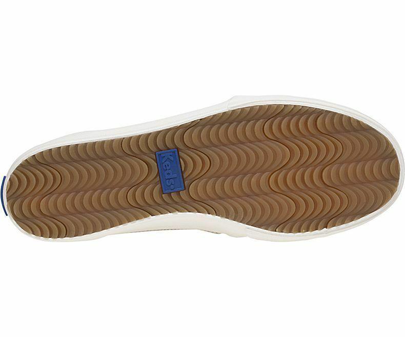 Keds WH59246 Women's Double Decker Dalmata Leather Blue Size 9.5