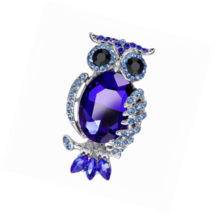 Brooch Pin Heart Rose Flower Owl Cross Crystal Vintage Style  Gift Box - $15.03+