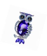Brooch Pin Heart Rose Flower Owl Cross Crystal Vintage Style  Gift Box - $15.03+