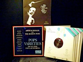 Pops Varieties - Arthur Fiedler And The Boston Pops Records AA-191746 Vintage C image 2