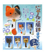 Mascot Nyanko Fuurin Summer Crystal Cat Plastic Windchime Collection - $10.99