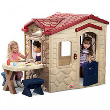 Little Tikes Picnic On The Patio Playhouse includes Play Food Pretend Ph... - $390.14