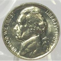 1987-D Jefferson Nickel BU In the Cello #0573 - $2.79