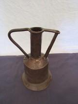 Antique Collectible Copper & Steel Handmade Decanter Vase Kettle - $127.79