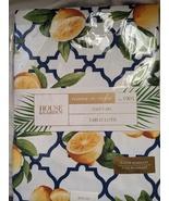"House & Garden Lemon Trellis Indoor Outdoor Tablecloth 70"" Round - $33.00"