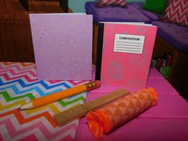 """18"""" Doll School Office Supplies Accessories Lot B American Girl Our Generation - $8.90"""