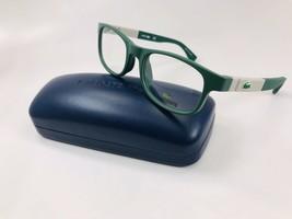 New LACOSTE KIDS L3627 315 Matte Green Eyeglasses 50mm with Flex Hinges & Case - $89.05