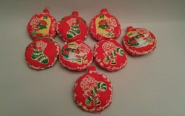 Vintage Handcrafted Strawberry Shortcake Christmas Stuffed Ornament home... - $24.05