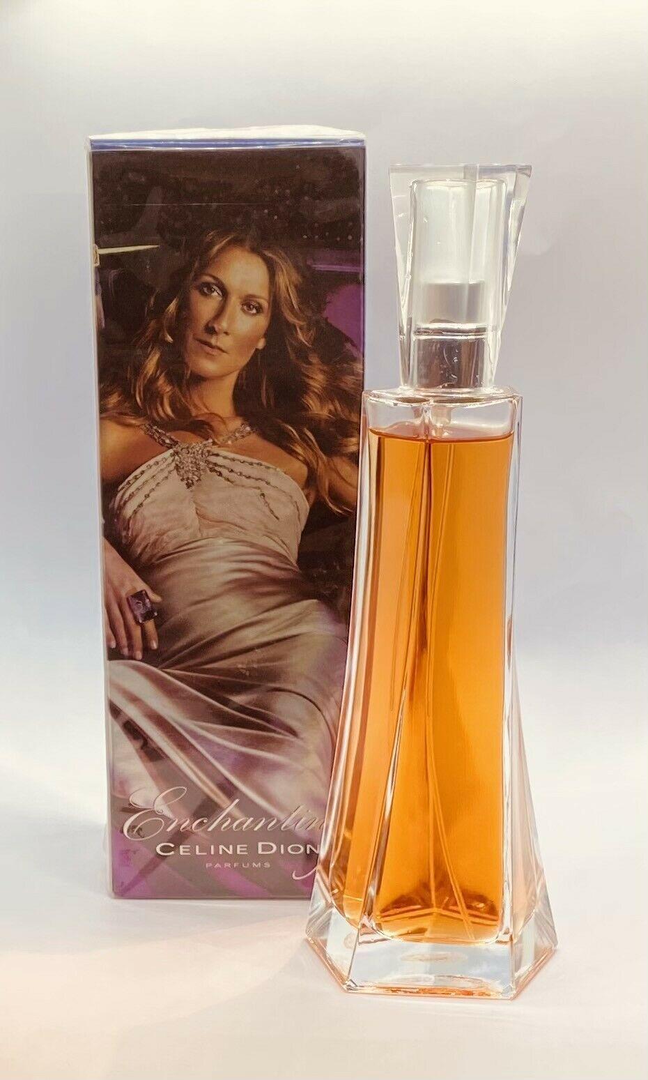 Enchanting Celine Dion Perfume For Women 100ml / 3.4 fl.oz EDT Spray - $158.55