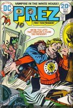 Prez #4 (1974) *Bronze Age / DC Comics / First Teen President / Final Issue*  - $4.00