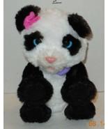 """Hasbro 13"""" FurReal Friends My Pom Pom Panda Baby Bear Interactive Toy - $32.73"""