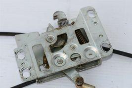 Mercedes R107 560SL Convertible Top Tonneau Cover Crank Release Latch Mechanism image 9