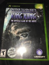 Peter Jackson's King Kong: The Official Game of the Movie (Microsoft Xbox, 2005) - $7.91