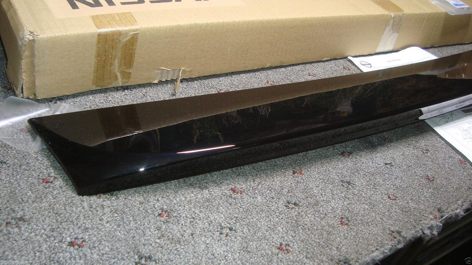 SPOILER Black Rear Deck NEW 999J1-LTKH3 Genuine NISSAN Fits SENTRA 2007-2011 HG