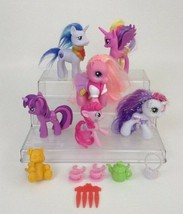 My Little Pony Friendship is Magic Figures Hasbro Lot of 6 with Accessor... - $16.88