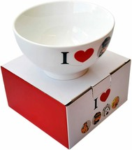 I Love Captain Haddock porcelain bowl in gift box Tintin official product image 2