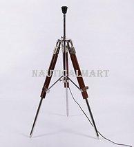 NauticalMart Designer Brown Sheesham Wood Tripod Lamp Base - $98.01