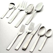 Gorham Slide 65 Piece Flatware Stainless Service For 12 Polished Finish New - $189.90