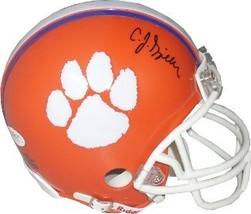C.J. Spiller signed Clemson Tigers Replica Mini Helmet- JSA Hologram - $64.95