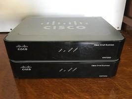 Lot of 2 Cisco Small Business Linksys WAP2000 Wireless-G Access Point - $24.75