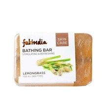 Fabindia Menge Von 2 Zitronengras Baden Seife 200gm Bio keine Parabene S... - $13.47