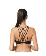 Women Sports Bra Running Gym Wirefree Shakeproof Push Up Yoga Underwear ... - $19.90