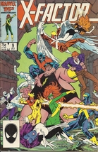(CB-9) 1986 Marvel Comic Book: X-Factor #9 - $5.00